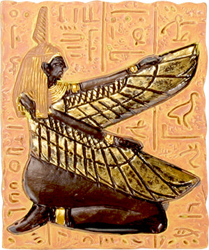 Ancient Egypt Goddess of Balance and Order Maat Magnet (Set of 3)
