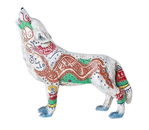 The Wolf Spirit Collection Aztec Wolf Spirit Collectible Figurine