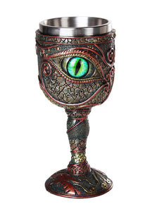 Eye of the Dragon Mystical Fantasy Chalice