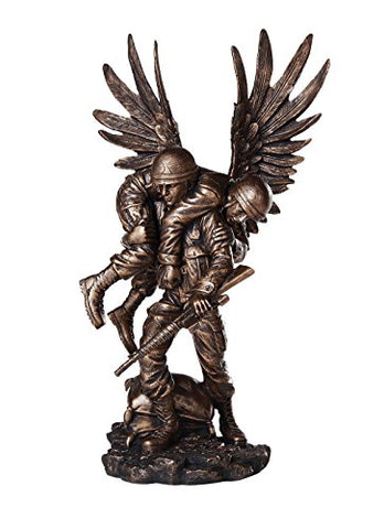 Guardian Angel In the Battlefield For America's Finest Soldier Military Heroes Collectible Figurine