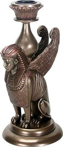 SUMMIT COLLECTION Ancient Egypt Sphinx Candle Holder