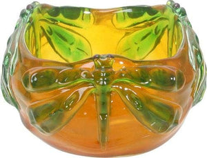 SUMMIT COLLECTION Art Nouveau Damselfly Bowl