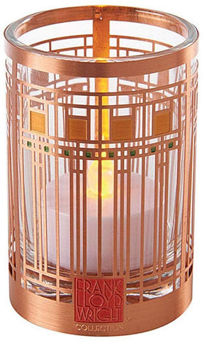 YTC Frank Lloyd Wright Oak Park Playroom Design Votive Candle Holder