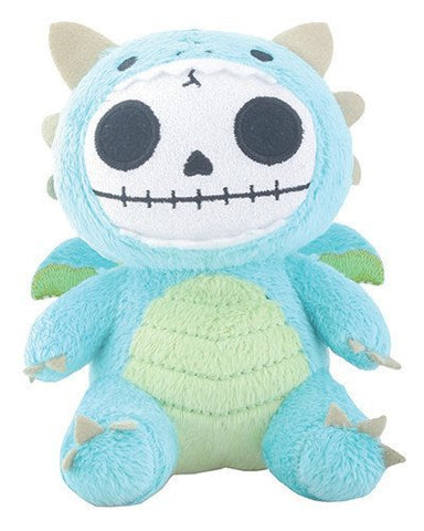 SUMMIT COLLECTION Furrybones Teal Dragon Scorchie with Wings Small Plush Doll