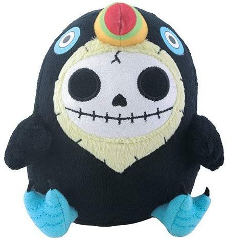 SUMMIT COLLECTION Furrybones Black Birdie Toucan Mango Small Plush Doll