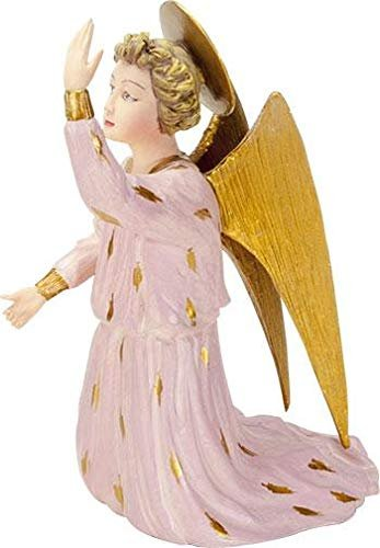 Kneeling Fra Angelico Angel in Pink