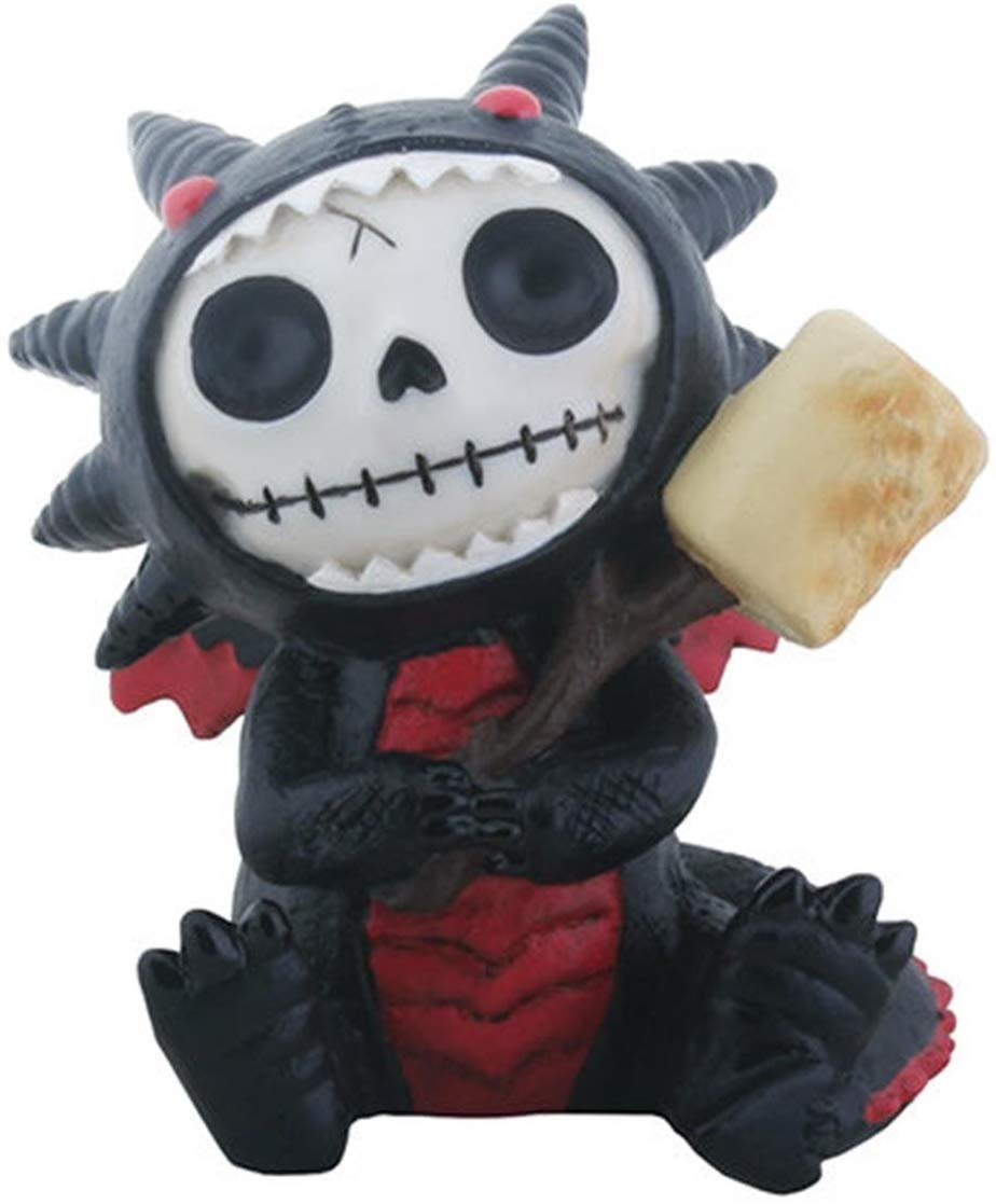 Furrybones Black Scorchie Character Themed Decorative Figurine