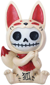 SUMMIT COLLECTION Furry Bones Kitsune The Japanese Cat Collectible Figurine