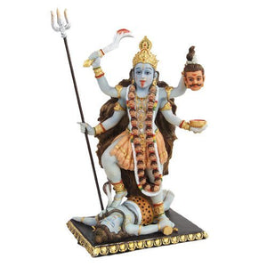 PTC 8.75 Inch Kali Mythological Indian Hindu God Statue Figurine