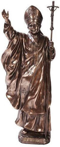 Pope Saint John Paul Home Decor Statue Made of Polyresin