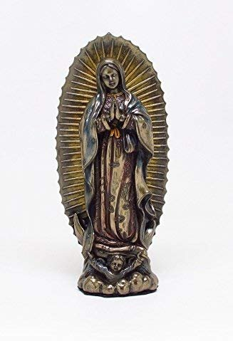 6.25 Inch Our Lady of Guadalupe Patron Saint Statue Figurine