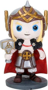 SUMMIT COLLECTION Norsies Thor The Hammer-wielding God of Thunder Cute Norse Mythology Collectible Figurine