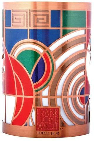 YTC Frank Lloyd Wright Max Hoffman Rug Design Votive Candle Holder