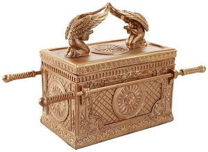 Pacific Giftware The Ark of The Covenant Box Model Collectible Golden Ark of Testimony