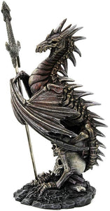 Pacific Giftware Ruth Thompson Official Dragon Blade Collectible Series Storm Litche Dragon Letter Opener 8 Inch Tall