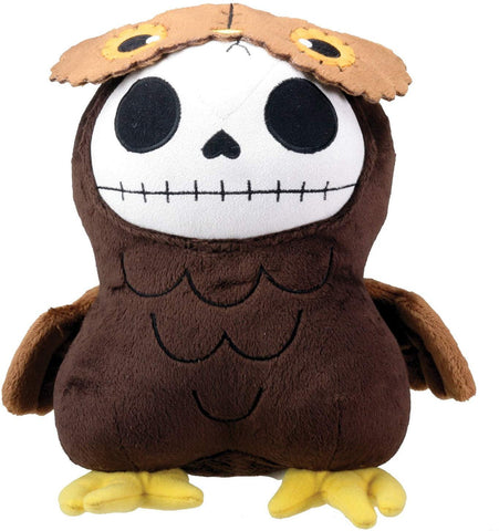 Furrybones Brown Owl Hootie Plush Doll