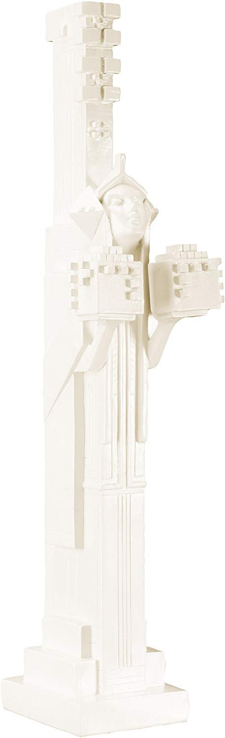 Frank Lloyd Wright - YTC Summit - Decorative Figurine - White - Sprite with...