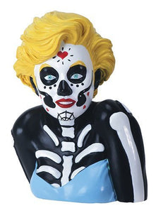 YTC Day of The Dead Marilyn Monroe Themed Bust Decorative Statue