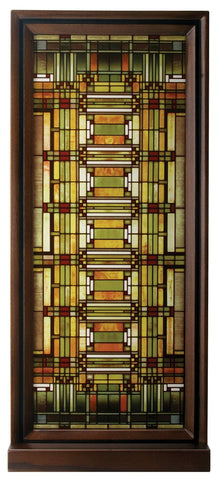 YTC Frank Lloyd Wright Oak Park Skylight Stained Glass