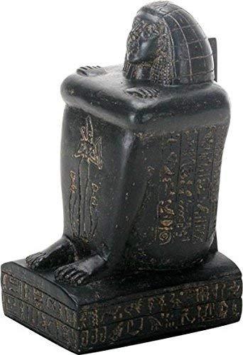 SUMMIT COLLECTION 9136 Egytpian Seated Statue