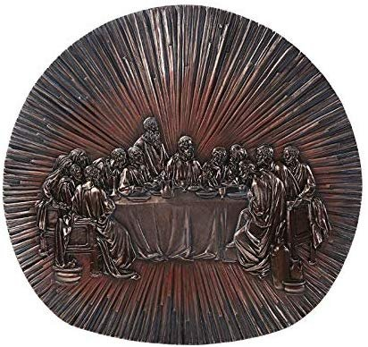 Pacific Giftware The Last Supper Home Wall Plaque Divinity Collection