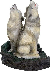 SUMMIT COLLECTION Howling Wolf Incense Burner