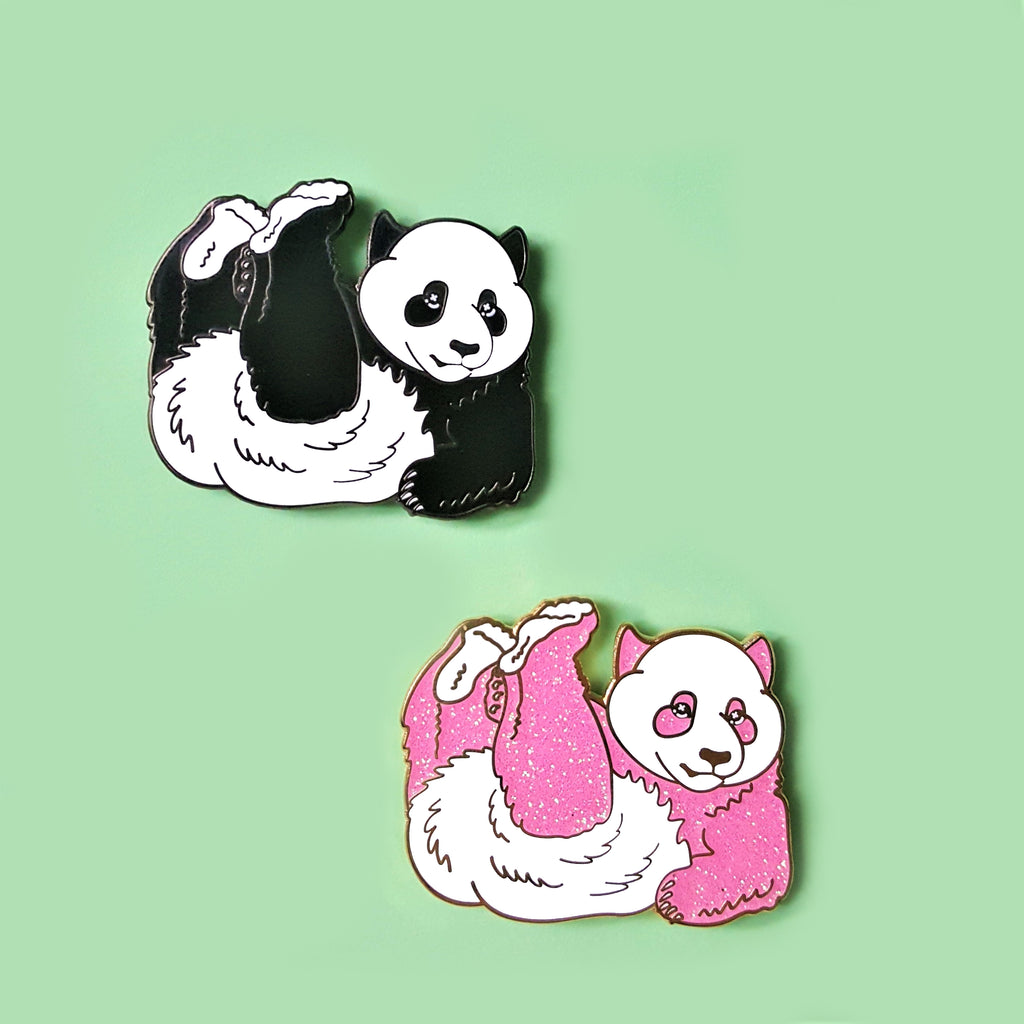 CLEARANCE SALE Panda Enamel Pin