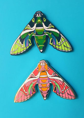 Oleander Hawk-Moth Pin