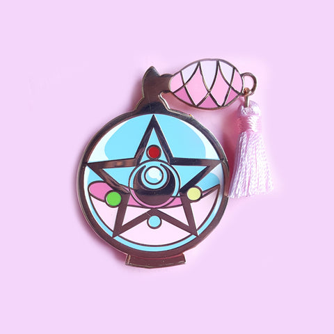 Sale CLEARANCE Magical Compact Perfume Pin