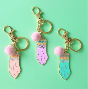 Sale CLEARANCE Lucky Rabbits Foot Keychain