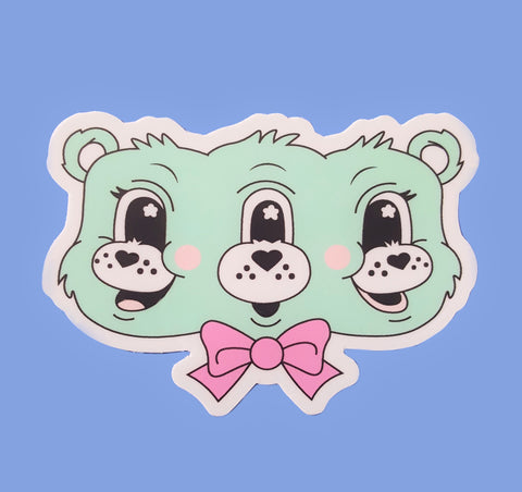 Scare Bear Sticker