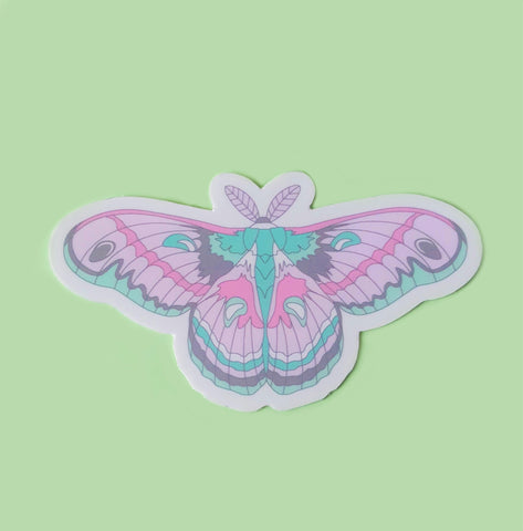 Cecropia Moth Sticker