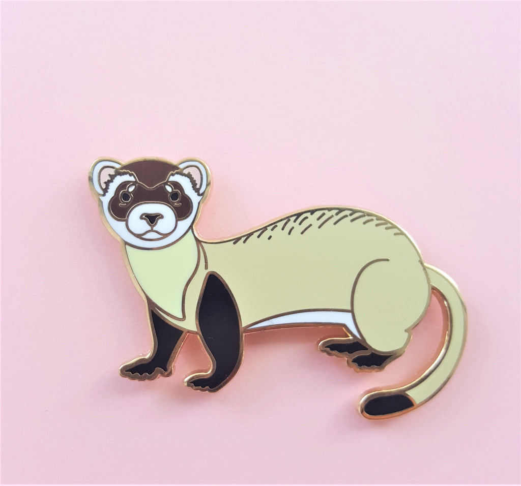 Black-Footed Ferret Charity Pin!