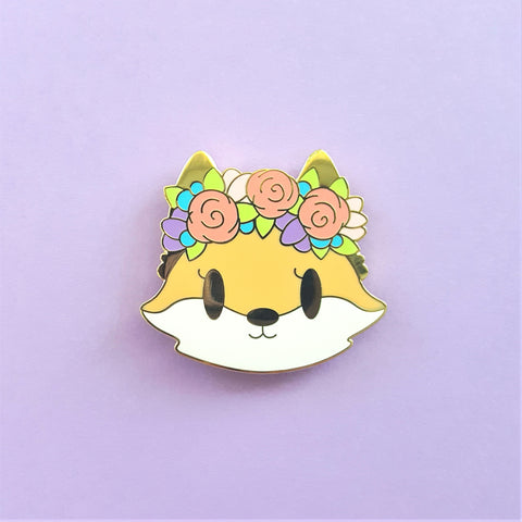 Floral Crown Fox