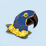 Hyacinth Macaw Pin