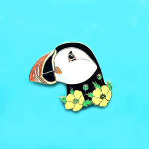 Puffin Enamel Pin