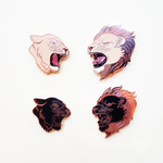 Lion and/or Lioness Pin