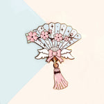 Cherry Blossom Wings Hand Fan