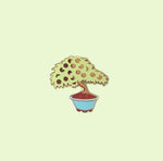 CLEARANCE Lemon Tree Bonsai Enamel Pin