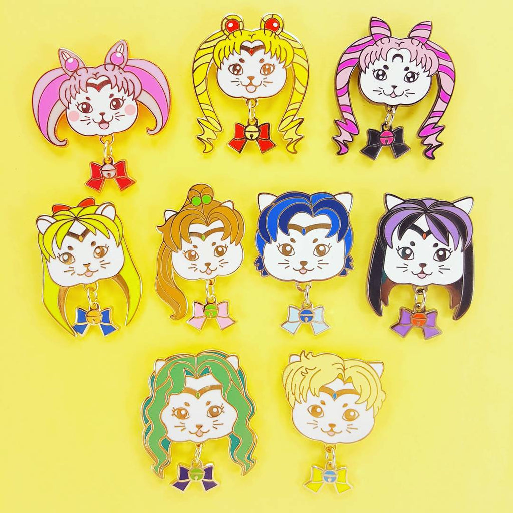Clearance Sale! -  Sailor Mewn Kitty Pins