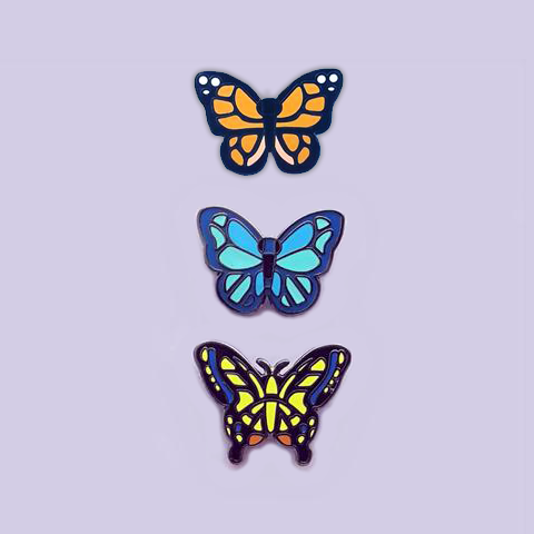 AC Mini butterflies