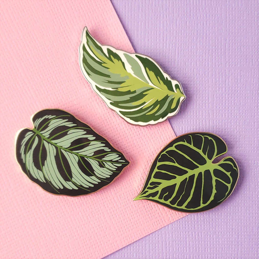 Tropical Leaf Pin