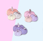 Pumpkin Trio Enamel Pin