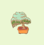 Willow Bonsai Enamel Pin