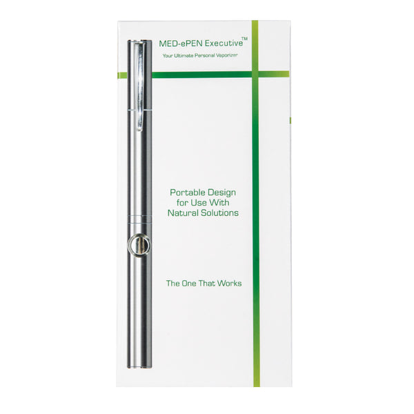 Med-ePen™ Executive Vape Pen in Retail Box