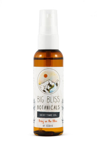 Big Bliss Botanicals - Sexy Time Massage Oil