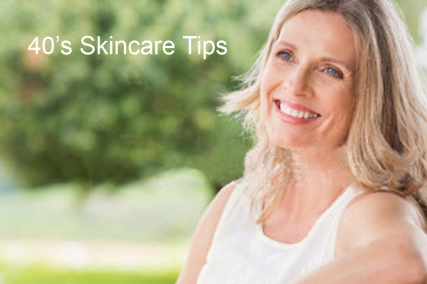 Skincare Tips for 40s