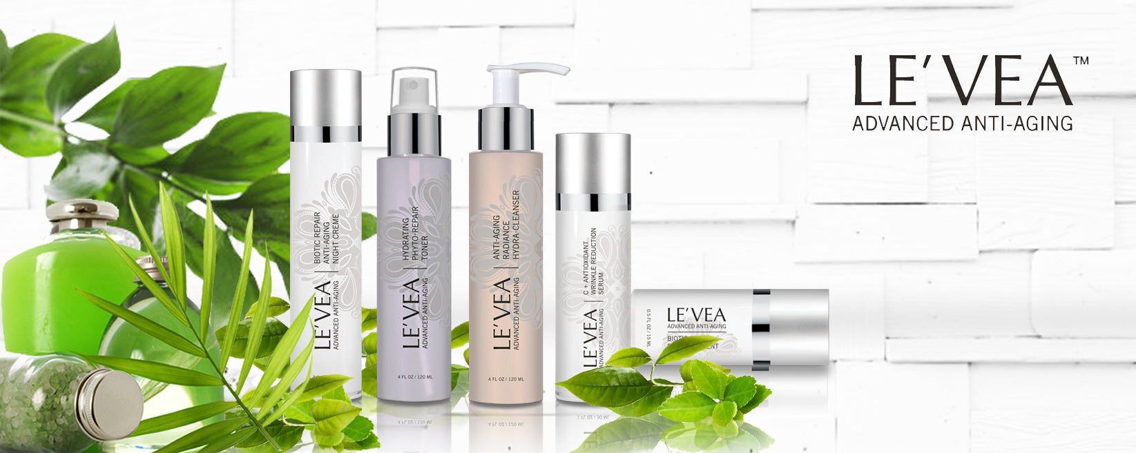 LE'VEA anti-aging skin care products for facial wrinkles