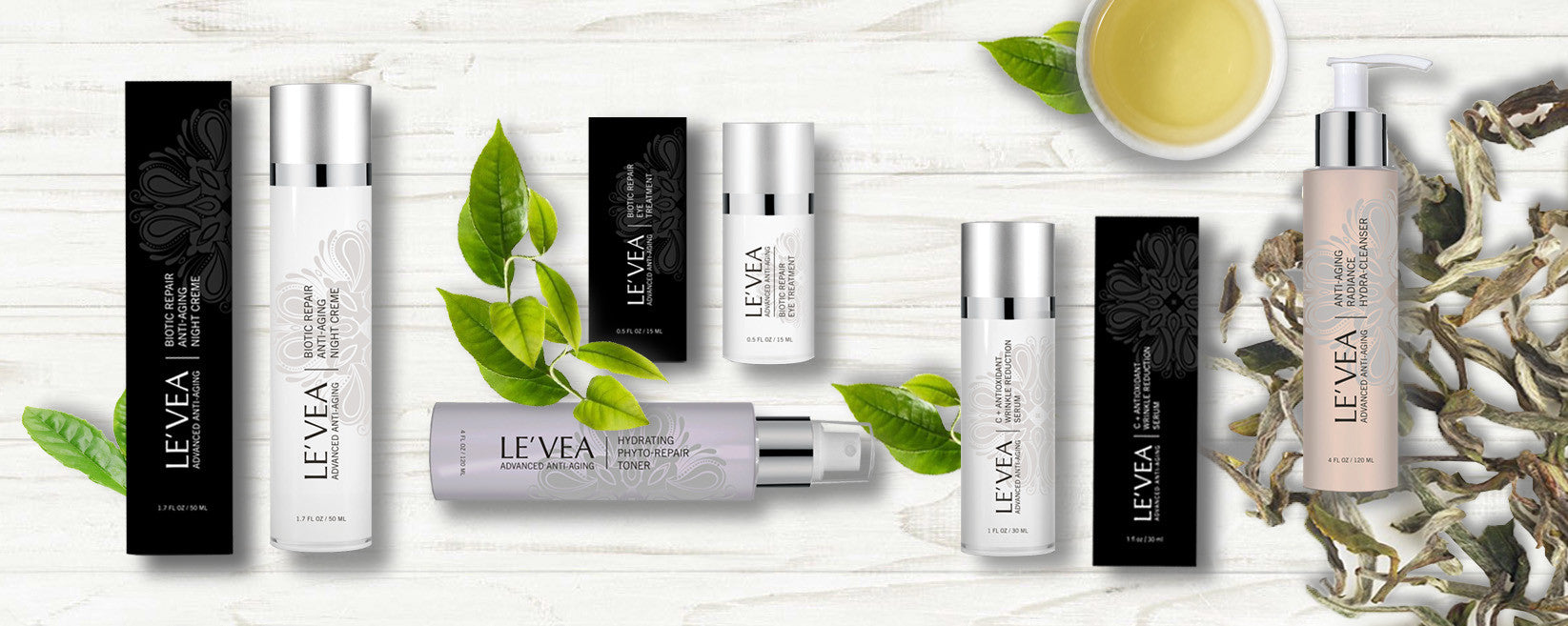 LE'VEA Anti-Aging Product Introduction