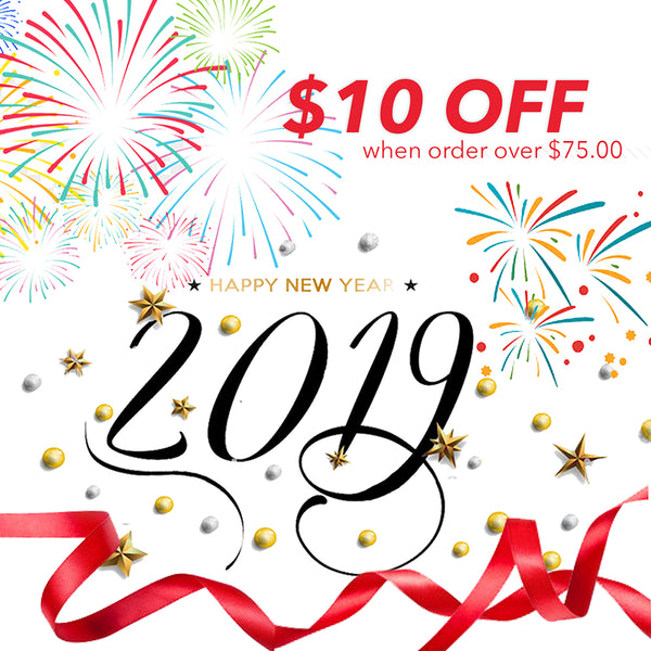 2019 New Year Discount Offer